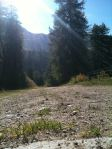 Plagne Foret: great for hill sprints