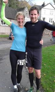 Second lady in the Dumyat Dash